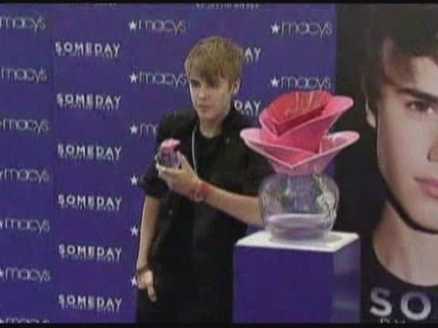 Justin Bieber's Someday Perfume Wins Top Accolade