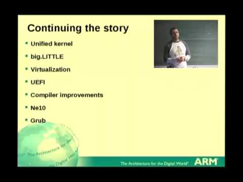 [FOSDEM 2013] ARMv8, ARM's new architecture including 64-bit