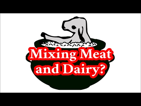 Mixing Meat And Dairy: Does The Torah Forbid It?