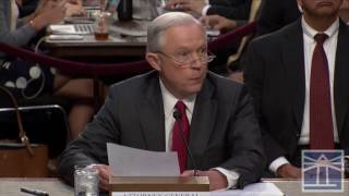 'Not one thing happened that was improper' in meetings with Russians | Sessions testifies