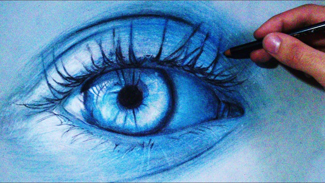 Comment Dessiner Un Oeil Réaliste Tutoriel 3