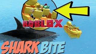 ROBLOX SHARK BITE WITH SALLYGREENGAMER!