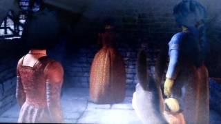 Shrek 3(Funny scene):The escape of the Princesses