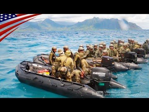 【水陸機動団】日米豪比4ヶ国合同の上陸訓練 - リムパック2018