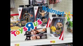 Wwe Action Figure Toy Hunt At Walmart & Toys R Us