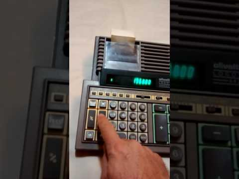 Calculadora Olivetti Logos 642 - Semi Nova - Perfeito Estado