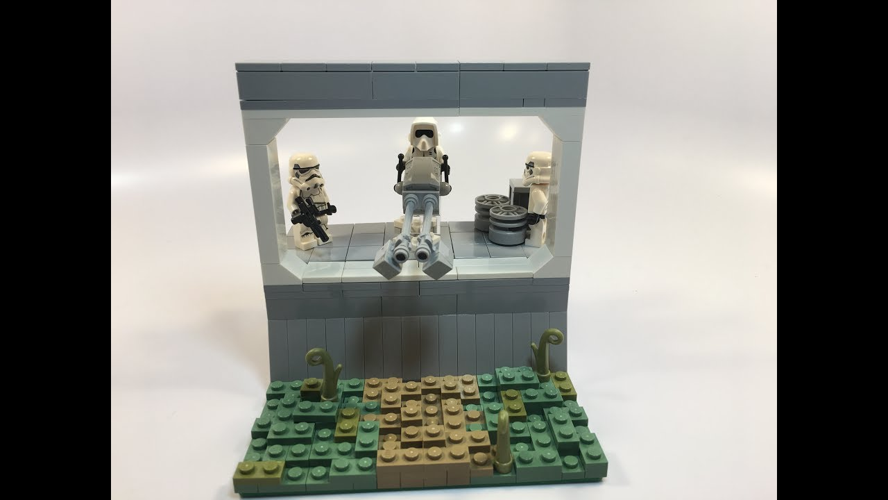 Lego Star Wars Imperial Base Assault Mini Moc Contest Entry