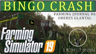 Bingo Crash (fs19 Oberes Glantal) | Farming Simulator 19 Pc | Farming Journal #6