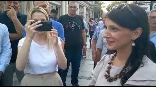Marinika Tepić izvređala novinare Alo! novina i nije odgovorila ni na jedno postavljeno pitanje