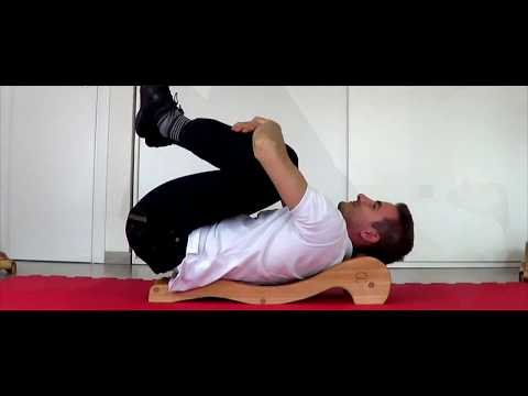 Spinal Backack  - 1st Advanced Excercises - Double Leg Raise with Tilt