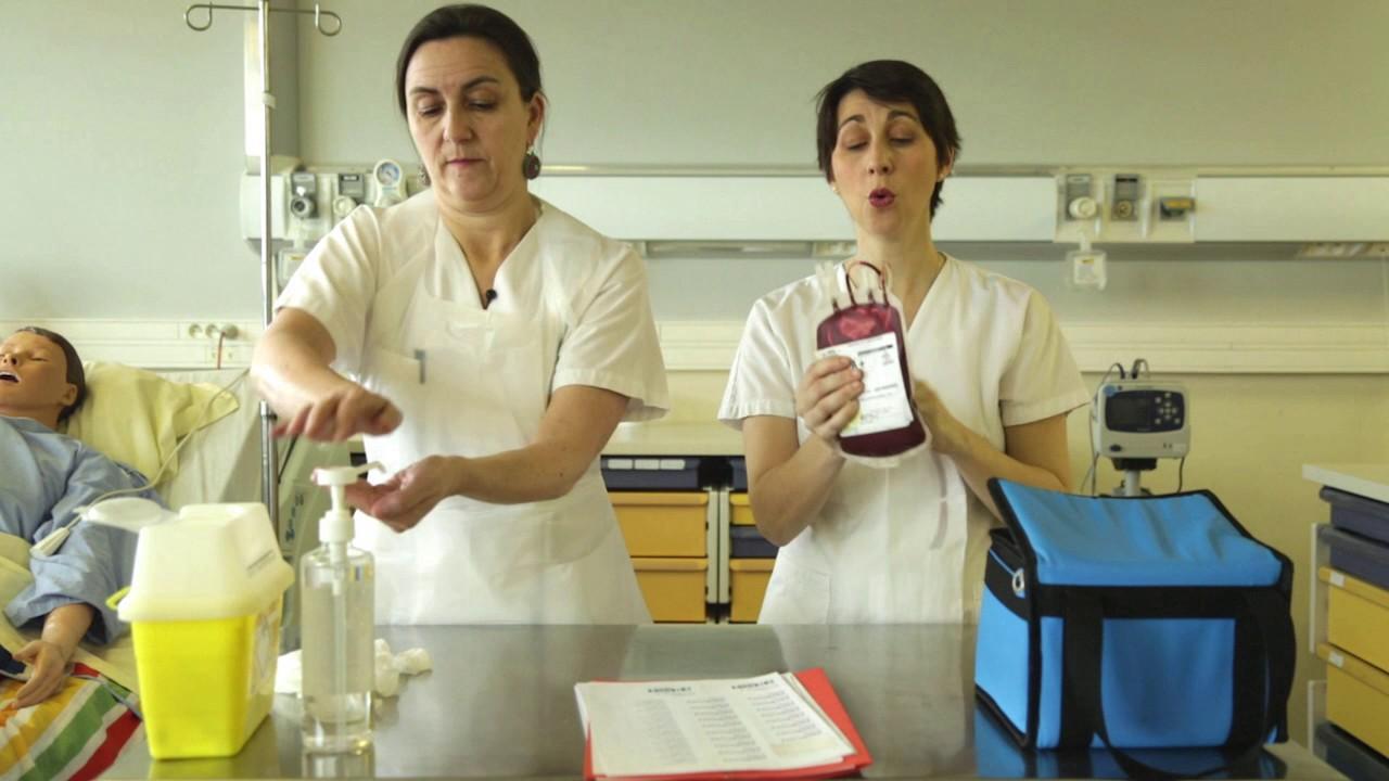 Atelier IFSI Foch - L'acte transfusionnel Partie 1