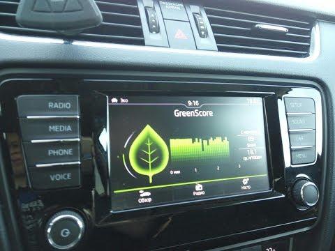 видео: Активация  меню green drive на Шкоде Октавии А7