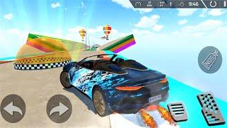 MEGA RAMP ! Super car racing ! Android Games - Gameplay screenshot 4