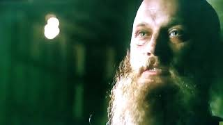 """Ragnar lothbrok and king ecbert are talking about atlastan """"a priest"""" who loved by both of them."""