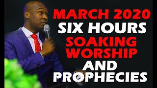 Gambar cover MARCH CROSSOVER SIX HOURS SOAKING WORSHIP AND PROPHECIES INTO MARCH 2020 WITH APOSTLE JOSHUA SELMAN