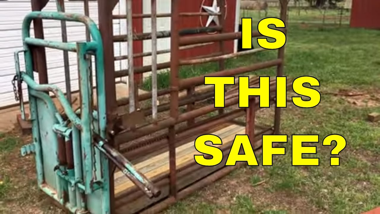 Budget Cattle Chute And Headgate Youtube