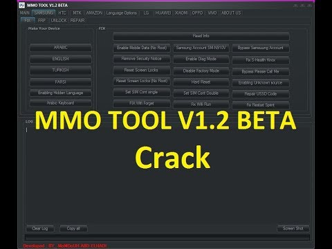 MMO TOOL V1.2 BETA Crack Without HWID