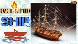 How to make handicraft Ship 🔥|| Handcraft 🔥|| 🔥 Ship Boat || MuchMuch