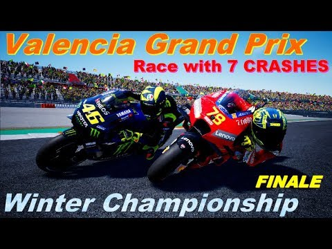 Crazy last lap #ValenciaGP | Winter Championship | #7 | MotoGP 2019 MOD | PC GAME