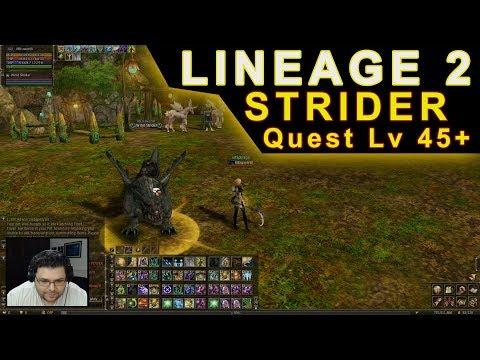 Lineage 2 - Strider Quest - Little Wing's Big Adventure (Gameplay em Português)