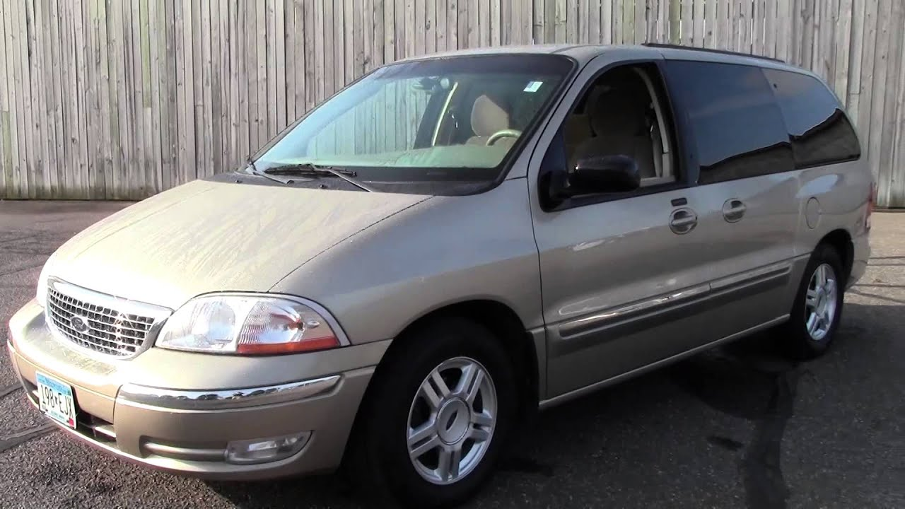 2001 Ford Windstar Wagon Se 2g150471a Youtube