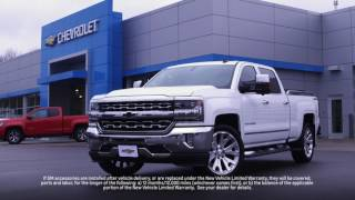 Chevy Vehicle Accessories | Chevrolet Certified Service