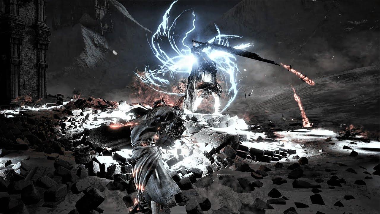 【4K】DS3 - Convergence - Slave Knight Gael No HUD Cinematic 黑魂3MOD - 新強化蓋爾(3階)【無HUD電影式戰鬥】