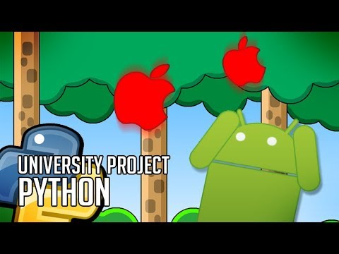 Coding a Game for a University Competition in Python