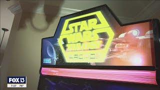 Clearwater man rebuilds vintage Star Wars arcade machine