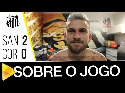 Lucas Lima analisa vitória contra o Corinthians