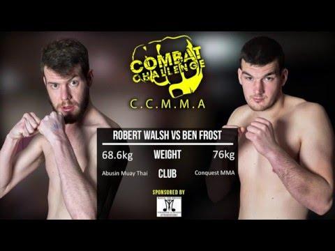 Combat Challenge Contenders: Robert Walsh vs Ben Frost