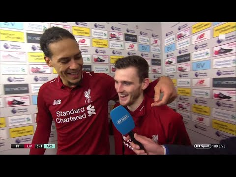 """It's a good time to be a Liverpool player"" 