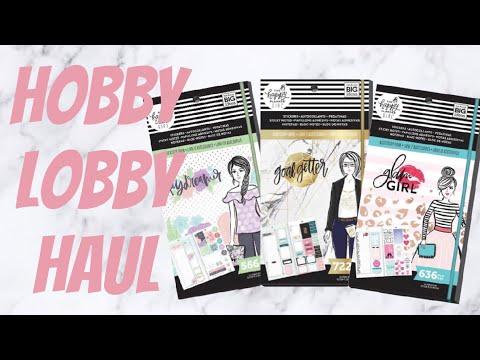 Happy Planner Haul from Hobby Lobby | EsaBeautyXOXO