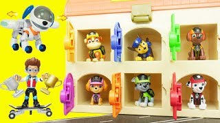 Paw Patrol Learning Video for Kids in New House!