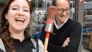 BEHIND-THE-SCENES: Van Dam's Kwastenfabriek & Goudhaantje