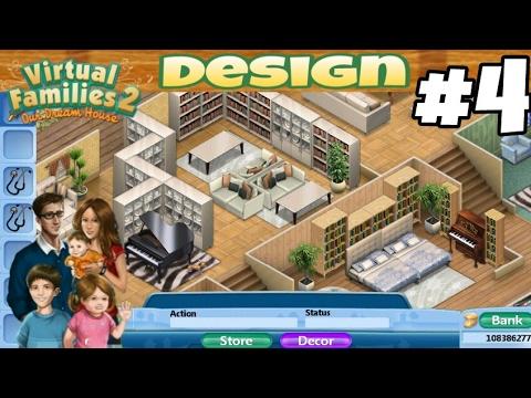 Virtual Families 2 House Design #4 - YouTube