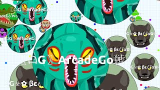 Agar.io Epic Solo Monster In The Server And Epic Fails (Agario Funny Moments)