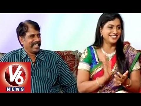 Actress & YCP MLA Roja & Director R K Selvamani | Life Mates | V6 News