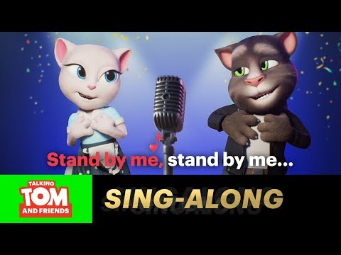 Tom and Angela - Stand By Me (Sing-Along Karaoke Version)