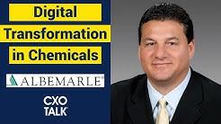 Digital Transformation in Specialty Chemicals (CXOTalk)