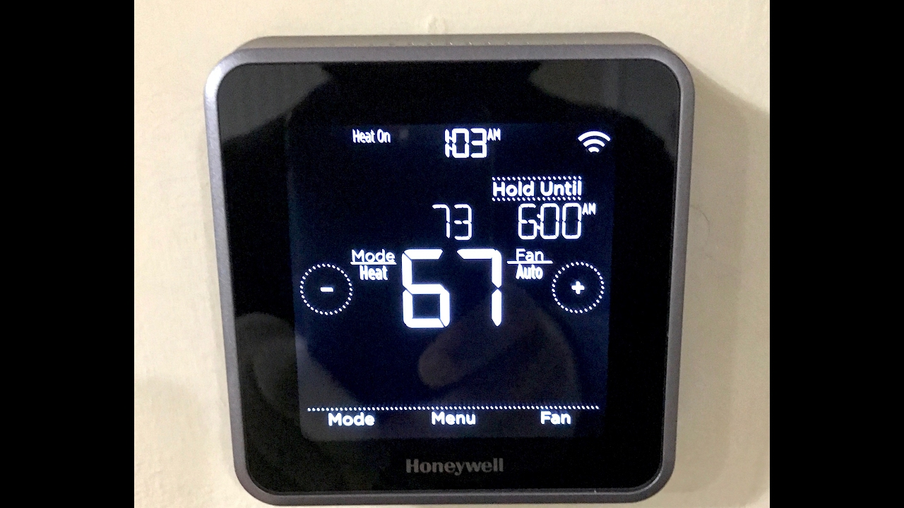 honeywell lyric thermostat installation and some c wire troubleshooting [ 1280 x 720 Pixel ]