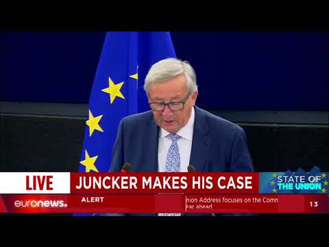 Watch Juncker's State of the Union address