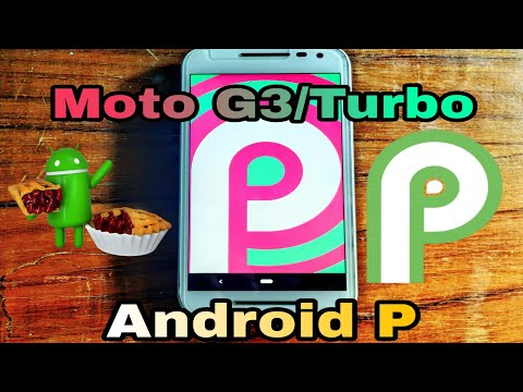 Android P 9 0 Rom For Moto g3/Turbo Android Pie😍 - YouTube