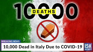 Gambar cover 10,000 Dead in Italy Due to COVID-19