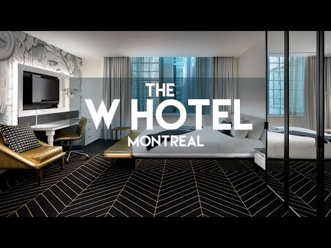 (SO MUCH FUN) THE W HOTEL // MONTREAL VIDEO TOUR!!