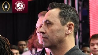 Steve Sarkisian On Taking Over Alabama Offense   Inside The National Championship