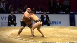 Sumo Батыр Алтыев (RUS) vs Дежо Либора (HUN) 相撲