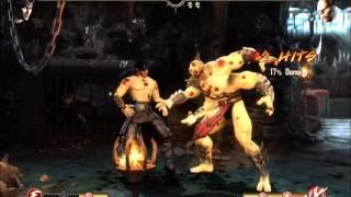 Фаталити Горо и Кинтаро и Шао Кана в Mortal Kombat Komplete Edition на ПК