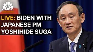 LIVE: Pres. Biden and Japanese PM Yoshihide Suga press conference — 4/16/21