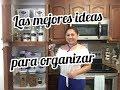 COMO TRANSFORMAR LA DESPENSA O ALACENA PARTE 1 || 2 DIY KITCHEN IDEAS #savvysandyorganizacion